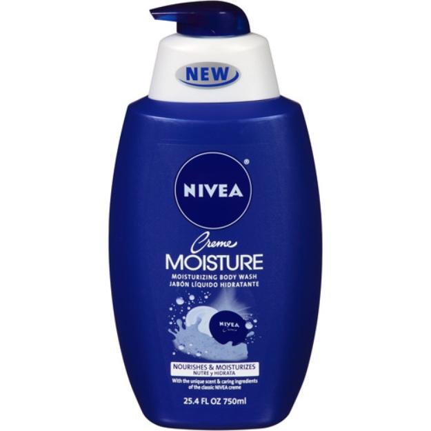 Nivea NIVEA Creme Moisture Moisturizing Body Wash, 25.4 fl oz