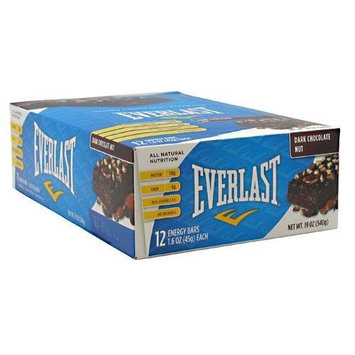 Everlast Energy Bars Dark Chocolate Nut -- 12 Bars