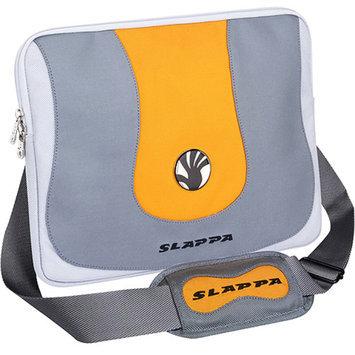 Slappa Aura Silver and Orange Laptop Sleeve (17 in.)