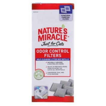 Nature's Miracle NATURE'S MIRACLETM Just For Cats Odor Control Filters
