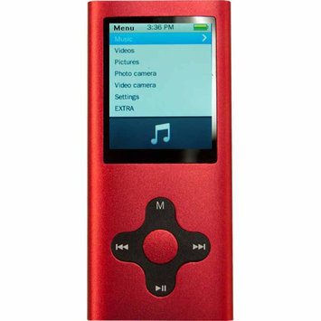 Eclipse - 4GB* Mp3 Player - Red