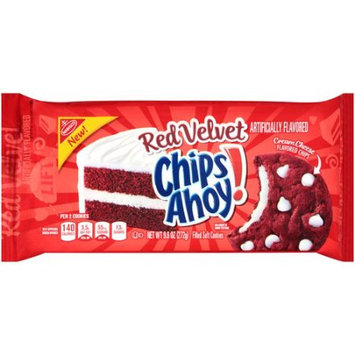 Nabisco Chips Ahoy! Red Velvet Cream Cheese Soft Cookies