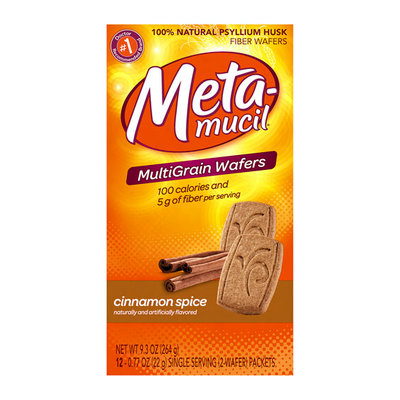 Metamucil Fiber Supplement Wafers