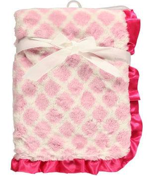 Hudson Baby Sweet Lattice Blanket