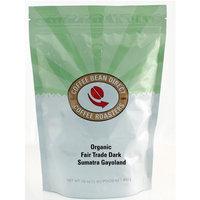 Coffee Bean Direct Dark Sumatra Gayoland, Organic Fair Trade Whole Bean Coffee, 16-Ounce Bags (Pack of 3)