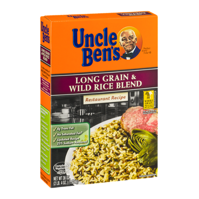 Uncle Ben's Long Grain & Wild Rice Blend Restaurant Recipe