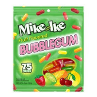 Carousel Mike & Ike Fruit Flavored Bubble Gum 4.25 Oz Bag (Pack of 4)