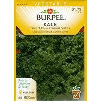 Burpee 50760 Kale Dwarf Blue Curled Vates Seed Packet