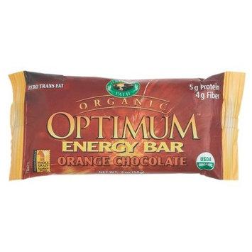 Nature's Path Organic Optimum Energy Bar Orange Chocolate, 2-Ounce Bars (Pack of 12)