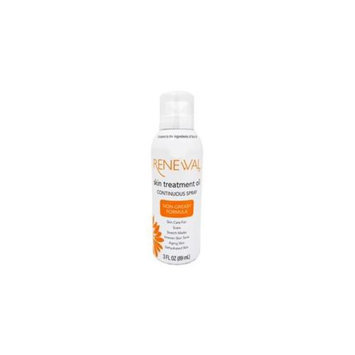 Designer 53633 R A* Renewal Skin Treatment Oil Continuous Spray - 12 Packs