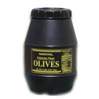 Martinis Select Kalamata Olives Pitted- 2 Kilo (4.6 Lbs)