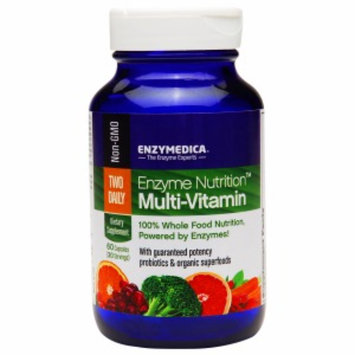 Enzymedica Enzyme Nutrition Two-Daily Multi-Vitamin, Capsules, 60 ea