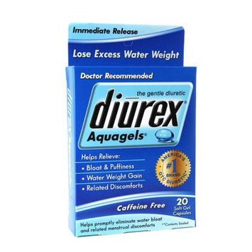 Diurex Aquagels Soft Gel Capsules, 20 ea