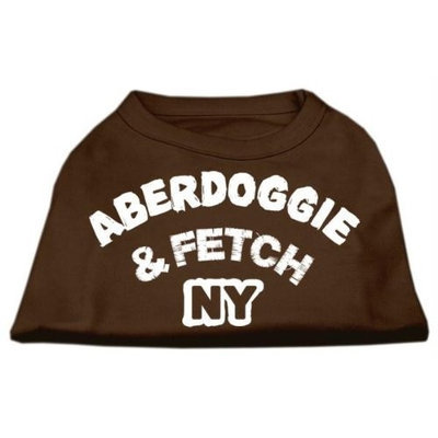 Ahi Aberdoggie NY Screenprint Shirts Brown XL (16)