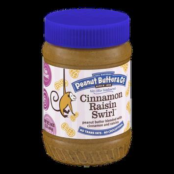 All Natural Peanut Butter & Co. Cinnamon Raisin Swirl