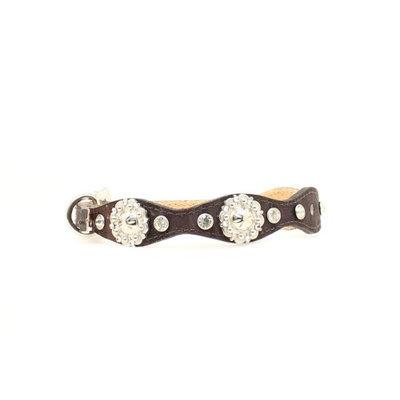 Blazin Roxx Crystal Scallop Camo Pet Collar