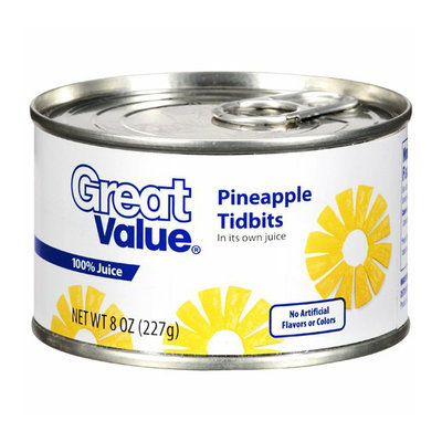 Great Value : Pineapple Tidbits