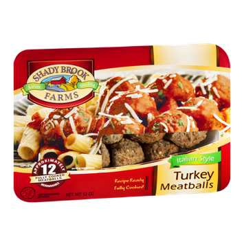 Shady Brook Farms Turkey Meatballs Italian Style