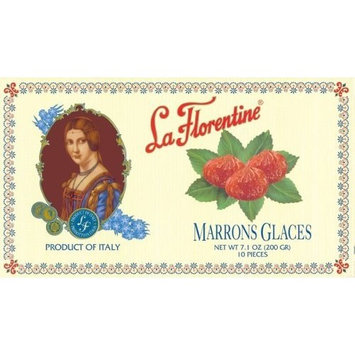 La Florentine Marrons Glace, 7.1-Ounce Boxes (Pack of 2)