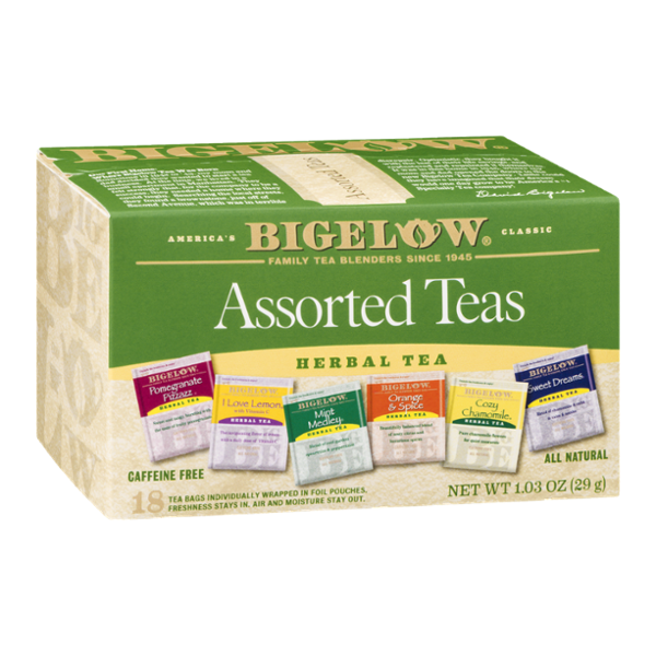 Bigelow Herbal Tea Assorted Teas - 18 CT