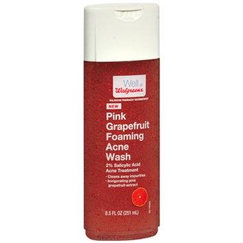 Walgreens Foaming Acne Body Wash, Pink Grapefruit, 8.5 fl oz