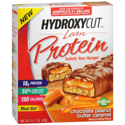 Hydroxycut Weight Loss Bars Chocolate Peanut Butter Caramel