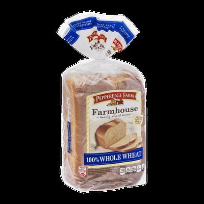 Pepperidge Farmhouse Bread 100% Whole Wheat