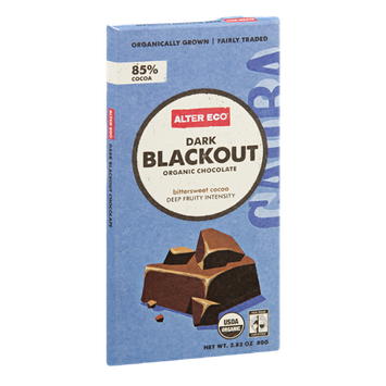 Alter Eco Organic Chocolate Dark Blackout
