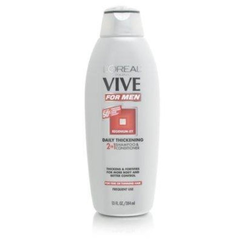 L'Oréal Paris Vive Daily Thickening 2 In 1 Shampoo & Conditioner for Men