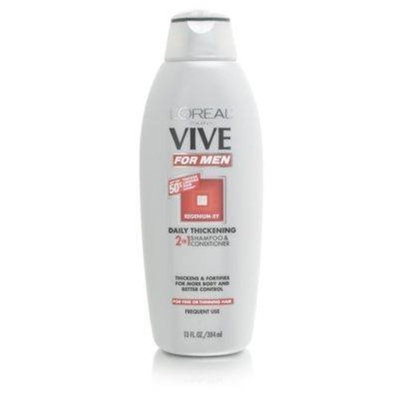 L'Oréal Vive for Men Daily Thickening 2 In 1 Shampoo & Conditioner Hair Shampoos