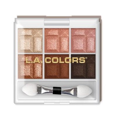 L.A. Colors 6 Color Eyeshadow,
