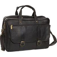 David King & Co. Expandable Laptop Briefcase