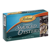 Roland Premium Smoked Oysters
