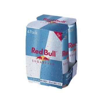 Red Bull Sugar Free Energy Drink 12 oz