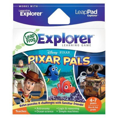 LeapFrog Explorer Learning Game - Disney/Pixar Pixar Pals