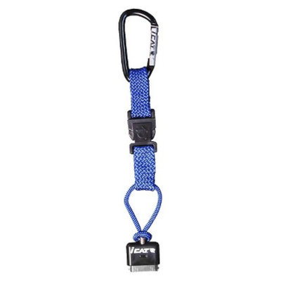 iCat Hang iT Carabiner Leash with Soft End Attachment for iPhone -