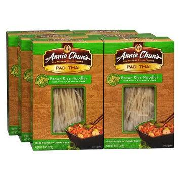 Annie Chun's Pad Thai Brown Rice Noodles 6 Pack