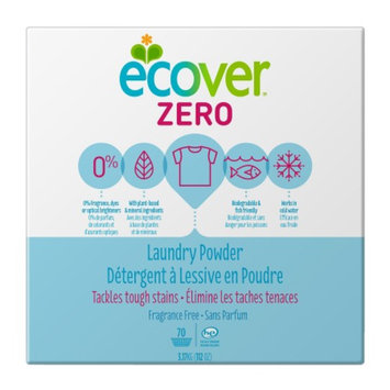 Ecover Powder Laundry Detergent, 70 Loads, Fragrance Free, 112 oz