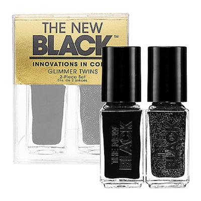 The New Black Glimmer Twins 2-Piece Nail Polish Set