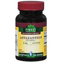 Finest Nutrition Astaxanthin 4 mg Dietary Supplement Softgels