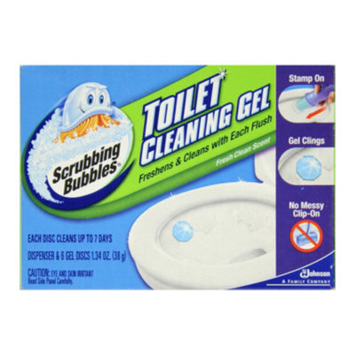 Scrubbing Bubbles Toilet Cleaning Bowl Gel - 6 ct
