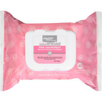 Equate Beauty Pink Grapefruit Oil-Free Cleansing Towelettes, 40 sheets