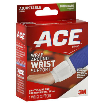 Ace Wrist Support, Wrap Around, Moderate Support, Adjustable