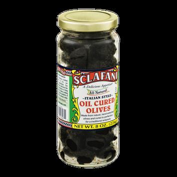 Sclafani Oil Cured Olives Italian Style