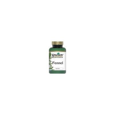 Swanson Premium Fennel 480 mg 100 Caps
