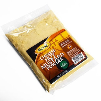 Roland Dried Chinese Hot Mustard Powder, 4 Ounces