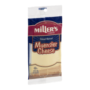 Miller's Cheese Muenster Sliced