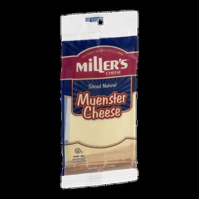 Miller's Cheese Muenster Sliced