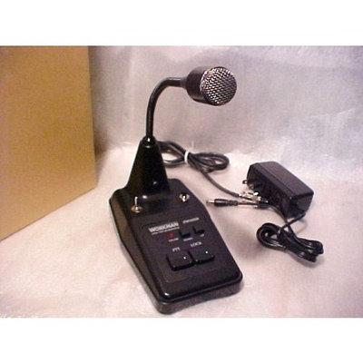 Redman Cb Stop Workman Dm502B Power Noise TOY KEY UP Base AM/SSb Microphone