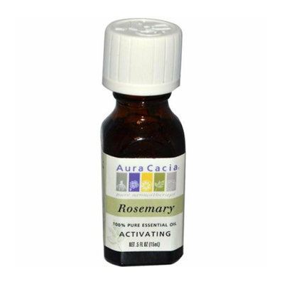 Aura Cacia Pure Essential Oil Rosemary 0.5 fl oz